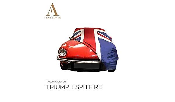 Housse Cabriolet LIVR/É Rapide Oldtimer B/ÂCHE Auto Garage Noir Housse Voiture DE Sport Star Cover Housse Voiture INT/ÉRIEUR Triumph Spitfire