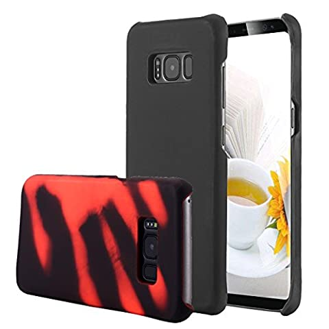 Galaxy S8 Hülle,Galaxy S8 Case, Snewill Magic Heat-Sensitive Case Color Changing Thermal Sensor Heat Thermal Induction Slim Thin Hard Case Cover for Samsung Galaxy S8, (Thermal Sensor)