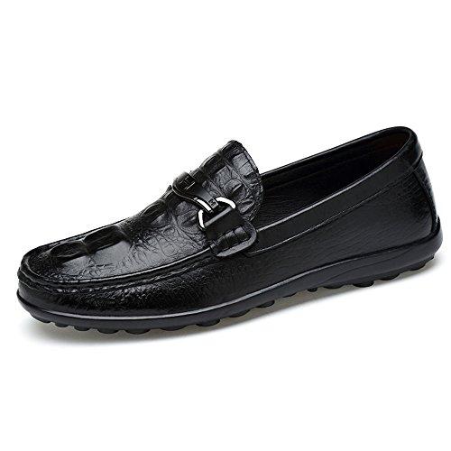 Schuhe Mens Qualität Auf Casual Loafers Herren Slip Mokassins Superior Schwarz xxTIqwH7