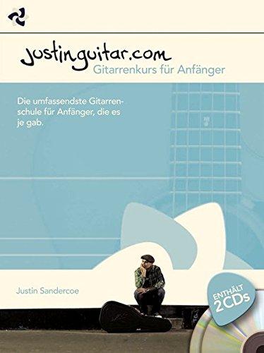 Justinguitar.com: Gitarrenkurs für Anfänger: Noten, CD (2) für Gitarre