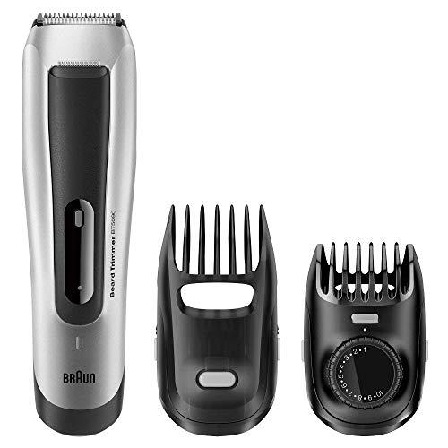 Braun BT 5090 - Recortadora barba hombre, corta con ajuste fino cada 0