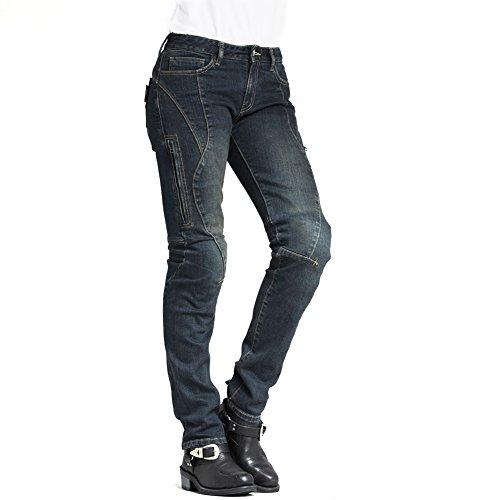 ke Motorrad Kevlar Jeans 607Blau ()