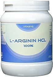 Vitasyg L-Arginin HCL Pulver 100 Prozent rein, optimale Löslichkeit, 1er Pack (1 x 1 kg)
