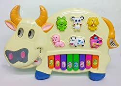 Memore Funny Musical Cow Piano