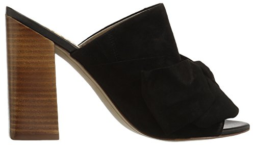 Sam Edelman Womens Yumi Heeled Sandal Black Suede