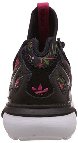 adidas Tubular Runner Damen Laufschuhe Schwarz (Core Black/Core Black/Vivid Berry S14)