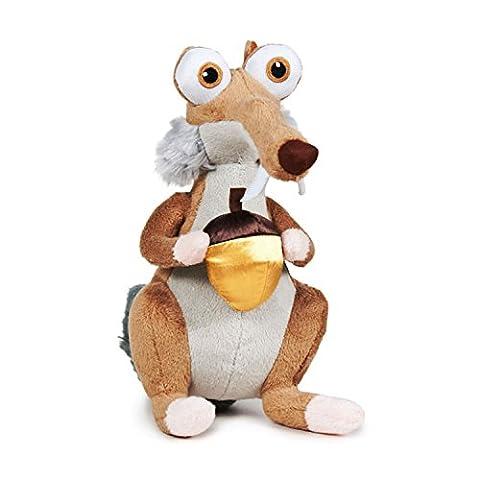 Plüsch Figur SCRAT Eichhörnchen mit GOLDBLOND EICHEL 100% Original GROSS 40cm ICE AGE 5: KOLLISION