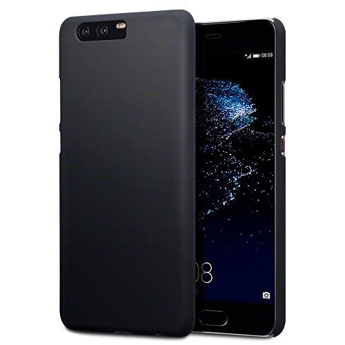 P10 Plus Cover, Terrapin Cover di Gomma Rigida per Huawei P10 Plus Custodia, Colore: Nero