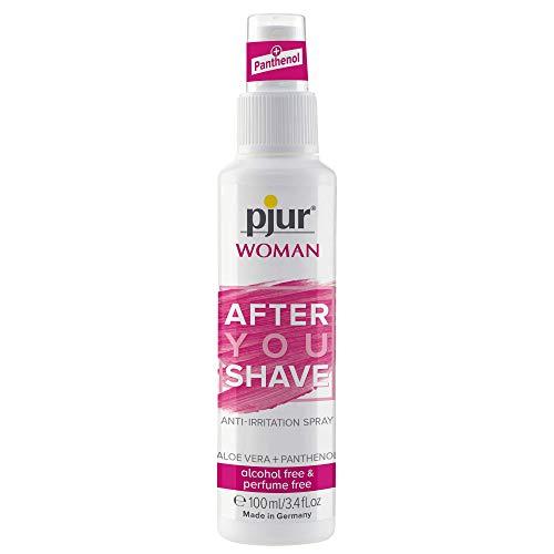 pjur WOMAN After YOU Shave - Pflegespray mit Panthenol - für den empfindlichen Intimbereich der Frau - nie mehr Rasierpickel - 1er Pack (1 x 100 ml)