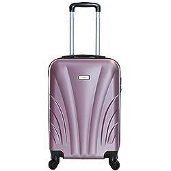 Slimbridge Ferro 55 cm Hard Suitcase, Rose Gold