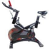 ISE Indoor Cycle Ergometer Heimtrainer mit Pulsmesser