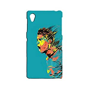 BLUEDIO Designer 3D Printed Back case cover for Sony Xperia Z1 - G1715