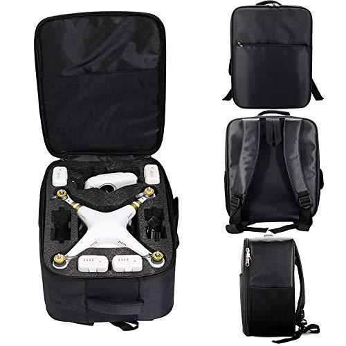 Alecony Drohne Tragende Schulter Kasten Rucksack Tasche schutzhülle lagerung Wasserdicht Explosionsgeschützte Tasche Handtasche Kompatibel mit DJI Phantom 3S 3A 3SE 4A 4 4Pro -
