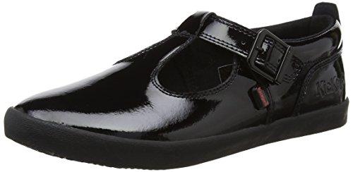 Kickers Damen Kariko T-bar Maria Janes Schwarz (Black) 39 EU Patent Mary Jane Schuhe