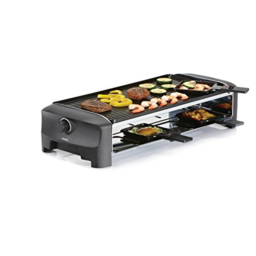 Princess 162840 Teppanyaki Party - Parrilla, Raclette y Plancha Reversible