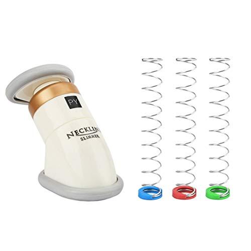 Tragbare professionelle dünne Axunge in Kinn Kinn Massager Kinn Trainer mit drei Federn Stoff Taschen Verpackung