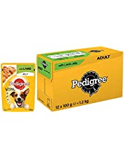 PEDIGREE Vital Protection Adult Wet Dog Food, Lamb in Jelly - 100g, g, 1.2 kg (Pack of 12)