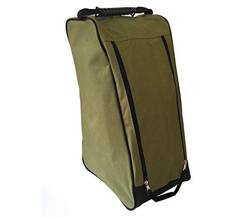 ASC Gummistiefel/Welly Kofferraum Tasche-für Transport und Aufbewahrung von Muddy Boots, wasserabweisend, grün