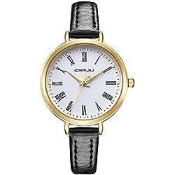 Longqi Women's Business Quartz Watches Fashion Casual Waterproof Wristwatch