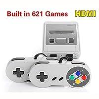 pacchetto: 1 X console di gioco 2 X controller di gioco 1 X Connessione HDMI 1 X Manuale inglese