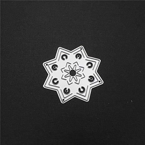 PENVEAT Kreis-Blumen-Rahmen Eisen-Metallschneideisen für Scrapbooking-Karte Machen Album Embossing Crafts Stencil Craft stirbt 2019 DMW2500, China China Blue Garland
