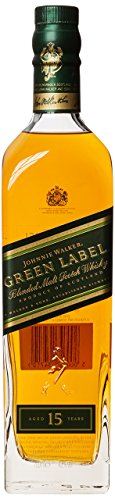 Johnnie Walker Green Label 15 Year Old Blended Scotch Whisky, 70 cl