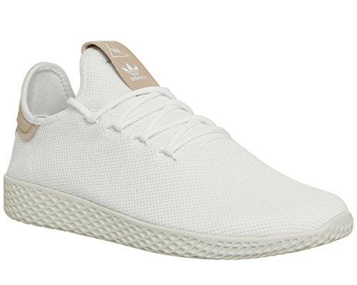 Low-cut-tennis-schuhe (adidas Originals Herren Schuhe/Sneaker PW Tennis Hu Weiß 39 1/3)