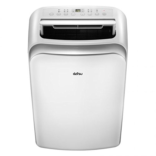 DAITSU Electric APD12-CRV2 65dB Color blanco - aire acondicionado portátil (A, 1,35...