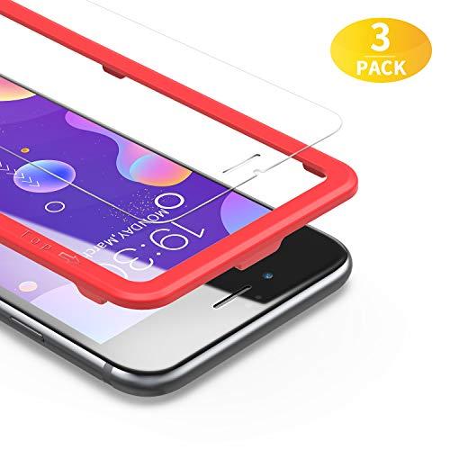 BANNIO Protector de Pantalla iPhone 7 / iPhone 8,[3 Unidades] 2.5D Cristal...