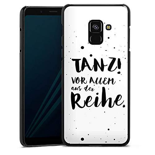 DeinDesign Hülle kompatibel mit Samsung Galaxy A8 Duos 2018 Handyhülle Case Tanzen Spruch Visual Statements