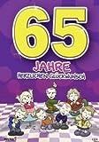 Archie Geburtstagskarte zum 65. Geburtstag Junge Mädchen lila Glückwunschkarte Kinder