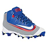 Nike da Uomo Huarache 2Kfilth Keystone Mid Baseball Cleat, (Game Royal/University Red/Stealth/White), 9 M US