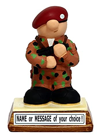 PERSONALISED Soldier – the perfect present / gift for that