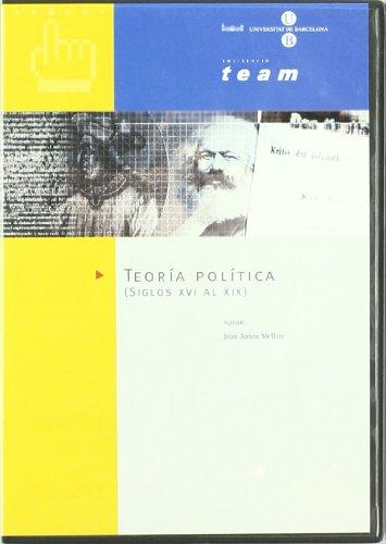 Teoria Politica. Siglos Xvi Al