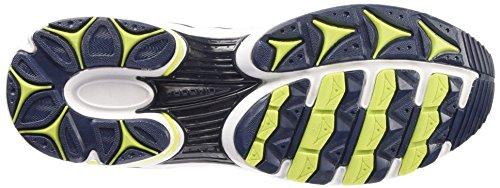 Diadora Shape 4 Scarpe Sportive, Unisex Adulto Bianco Ottico/Blu Estate