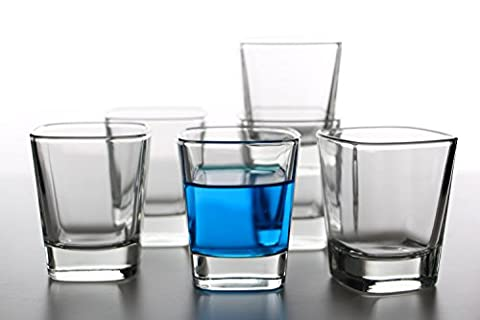 idea-station Quadro shot glasses 6 pieces up to max. 6