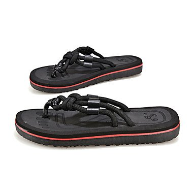 Uomo Slippers & Primavera Estate Autunno Comfort Light Suole PU esterna piana casuale HeelWalking Sh sandali US10 / EU43 / UK9 / CN44