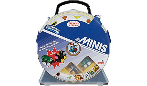 Thomas and Friends Minis Pack of 6 / 8 or Carry Case with 2 Trains - Brilliant Stocking Filler Thomas The Tank Engine Toys (Carry Case with 2 trains)