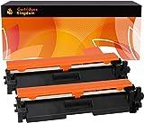 Cartridges Kingdom 2-er Pack Toner kompatibel zu HP CF217A/17A (1.600 Seiten) für HP Laserjet Pro M102a, M102w, MFP M130a, M130fn, M130fw, M130nw - Schwarz (mit Chip)
