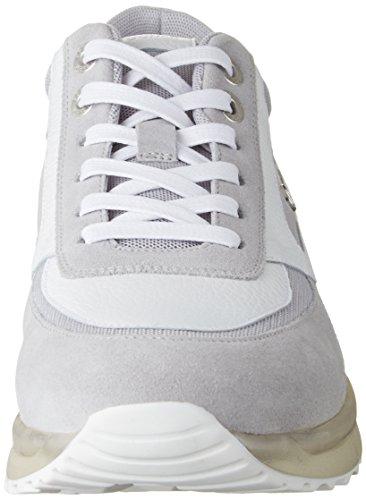 Bogner New York M1i, Sneakers basses homme Gris/blanc