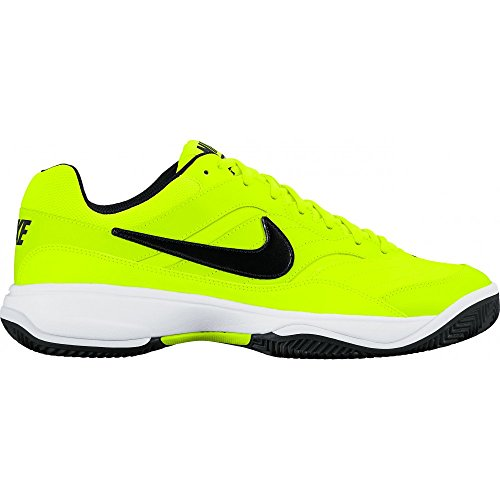 Nike 845026-701, Scarpe da Tennis Uomo, Diversi Colori (Volt/Black-White), 37 EU