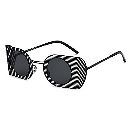 XHCP Frauen Klassische Sonnenbrille hip-hop Punk Stil uv Sonnenbrille für Frauen männer farbige linse Outdoor Fahren Reisen Sommer Strand (Farbe: c1)