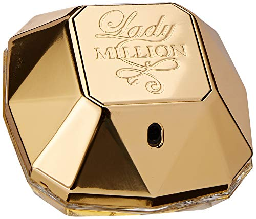 Paco Rabanne Lady Million femme/ woman, Eau de Parfum, Vaporisateur/ Spray, 1er Pack (1 x 50 ml)