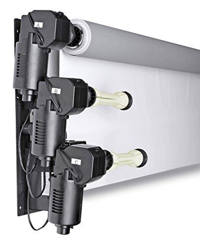 Bresser MB-5Y Elektrisches Aufhänge-System für 3-Fotostudio Hintergründe