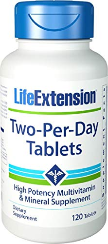 Life Extension - Two-Per-Day Tablets - 120 Tabs by Life Extension (Extensions Sichere)