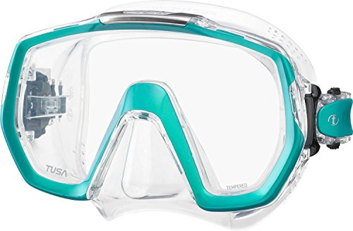 Tusa Freedom Elite - silikon erwachsene tauchmaske schnorchelmaske profi (m-1003) - Ocean Green (Grün)