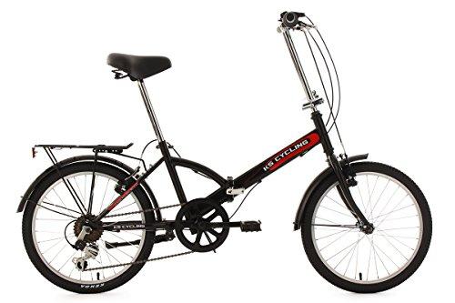 Ks Cycling Vélo pliant Noir 20