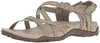 Merrell Women Terran Lattice II Open Toe Sandals,Beige (Taupe), 36 EU (3 UK)