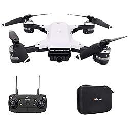 HKFV Le-Idea IDEA10 2.4GHz Drone avec Caméra HD GPS 1080P WiFi FPV Helicoptère4 axe Gyro Fonction Télécommandé , Maintien d'altitude,Vol de Trajectoire, pour Les Débutants
