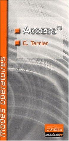Access XP by Claude Terrier (2003-04-01) par Claude Terrier